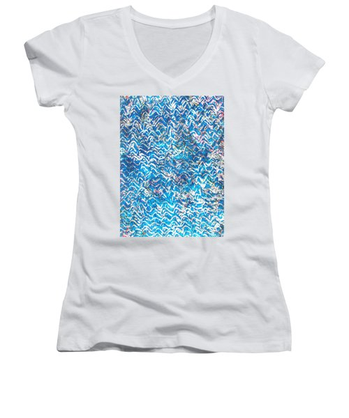 23-offspring While I Was On The Path To Perfection 23 Women's V-Neck (Athletic Fit)