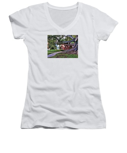 Old Adobe Women's V-Neck T-Shirt