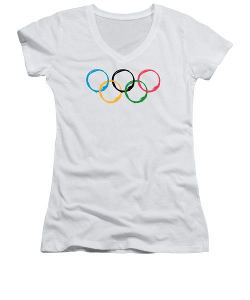 Olympic Ensos Women's V-Neck (Athletic Fit)