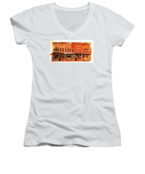 On Market Square Women's V-Neck