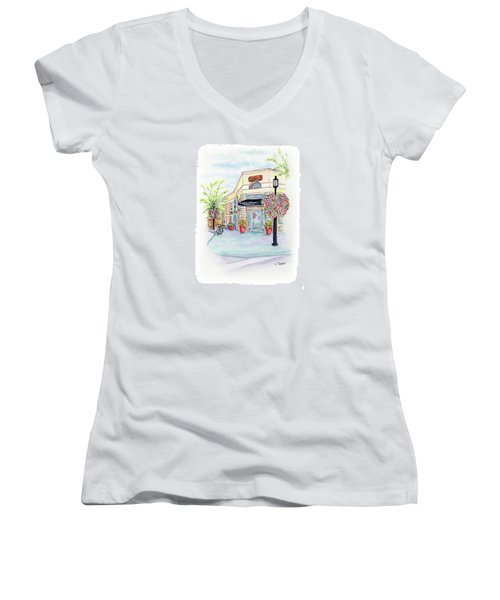 On The Corner Women's V-Neck