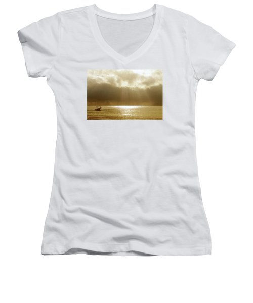 One Boat Women's V-Neck