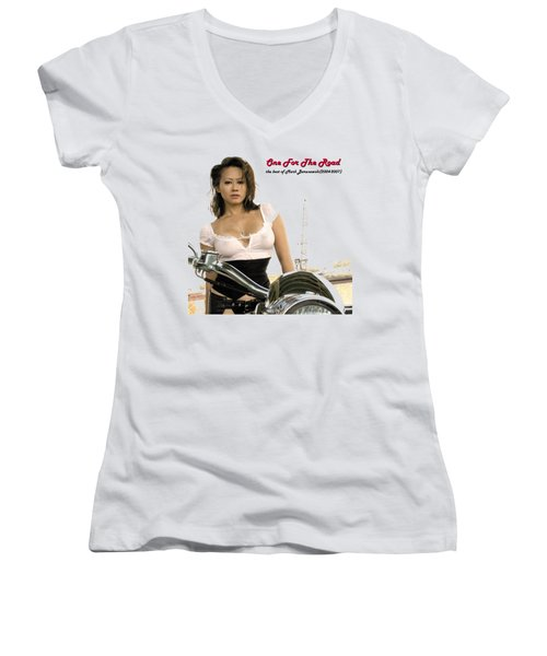 One For The Road Women's V-Neck (Athletic Fit)