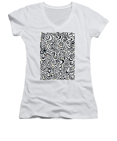 One Love Tribal Women's V-Neck (Athletic Fit)