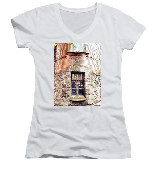One Window And A Half Women's V-Neck (Athletic Fit)