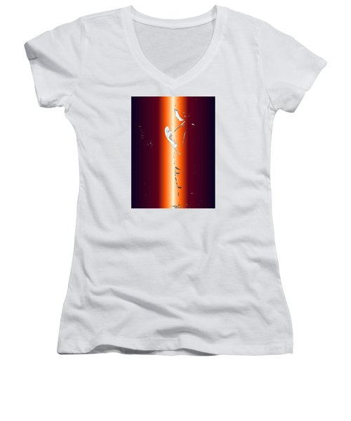 One With God Women's V-Neck (Athletic Fit)