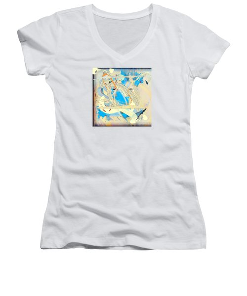 Only In A Dream Women's V-Neck (Athletic Fit)