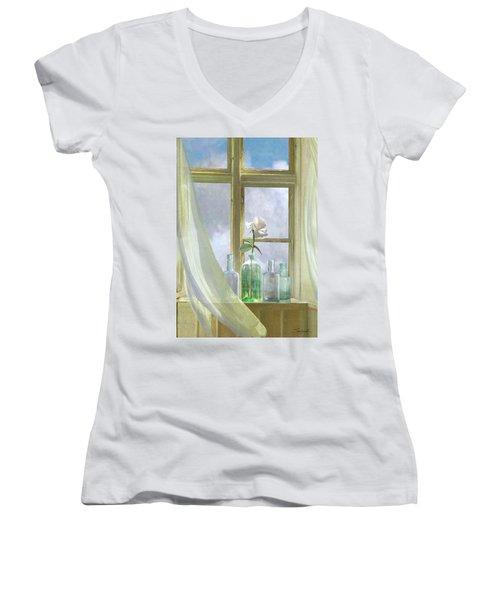 Open Window Women's V-Neck
