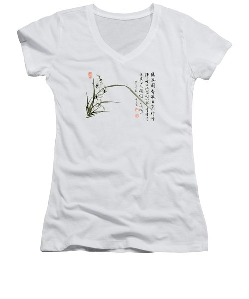 Orchid - 61 Women's V-Neck (Athletic Fit)