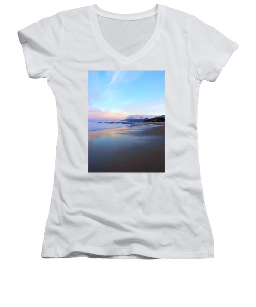 Oregon Coast 4 Women's V-Neck T-Shirt