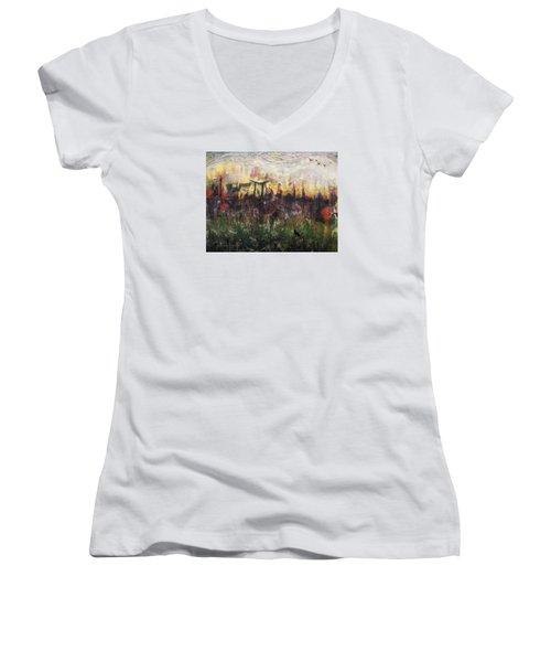 Other World 2 Women's V-Neck T-Shirt