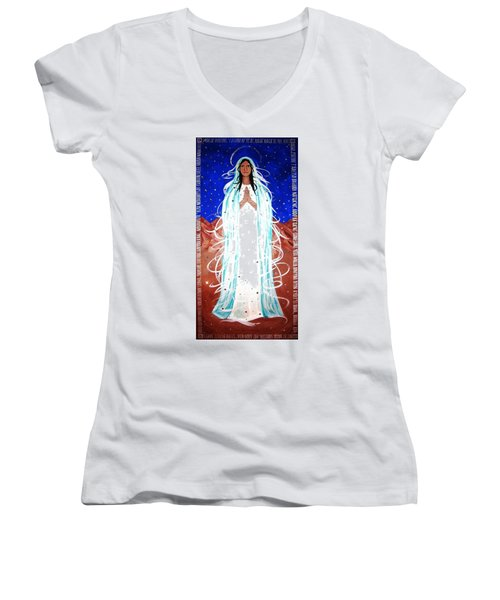 Our Lady Of Lucid Dreams Women's V-Neck
