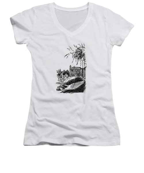 Our Quiet Life Women's V-Neck (Athletic Fit)