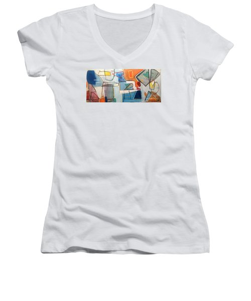 Out Of Sorts Women's V-Neck (Athletic Fit)