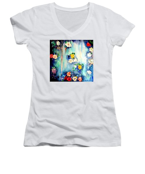 Out Of Time II Women's V-Neck