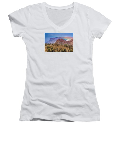 Outback Rainbow Women's V-Neck