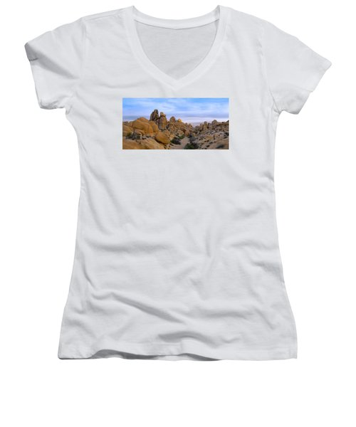Outer Limits Pano View Women's V-Neck