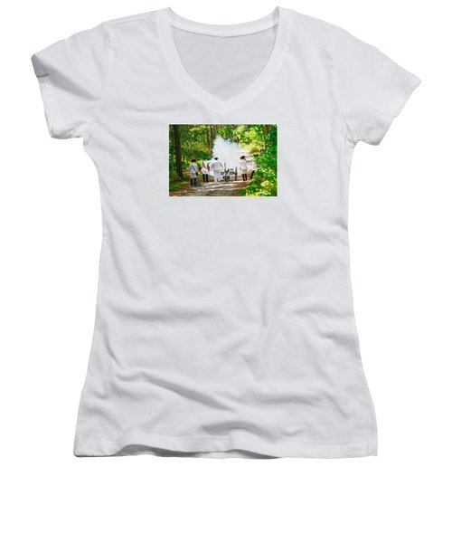 Page 10 Women's V-Neck T-Shirt
