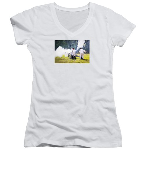 Page 25 Women's V-Neck T-Shirt