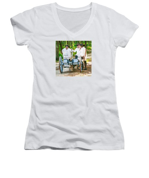 Page 7 Women's V-Neck T-Shirt