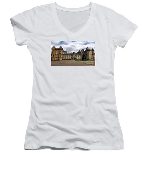 Palace Of Holyroodhouse  Women's V-Neck T-Shirt
