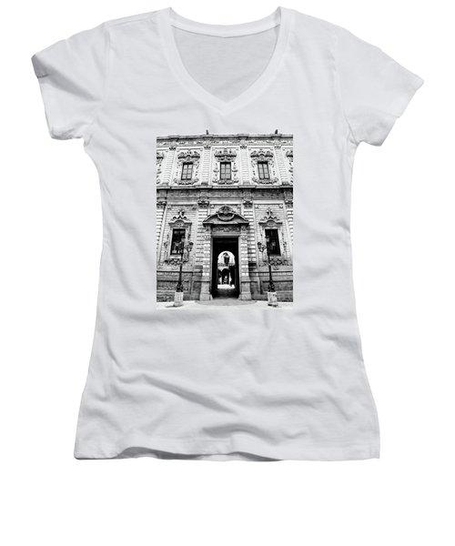 Palazzo Dei Celestini Women's V-Neck (Athletic Fit)