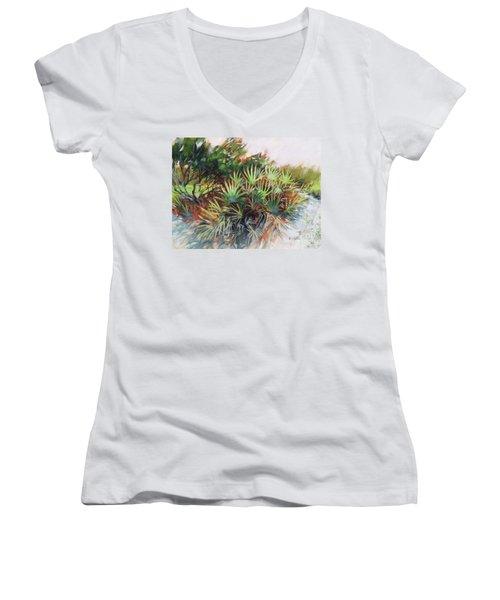 Palmetto Dance Women's V-Neck T-Shirt