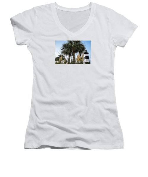 Palms At Lightkeepers Women's V-Neck
