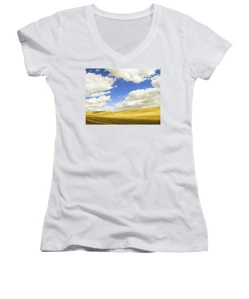 Palouse Valley Women's V-Neck T-Shirt