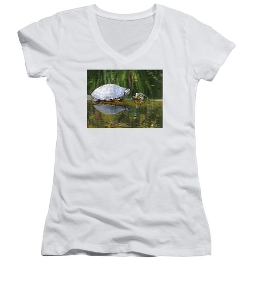 Parental Advice Women's V-Neck T-Shirt