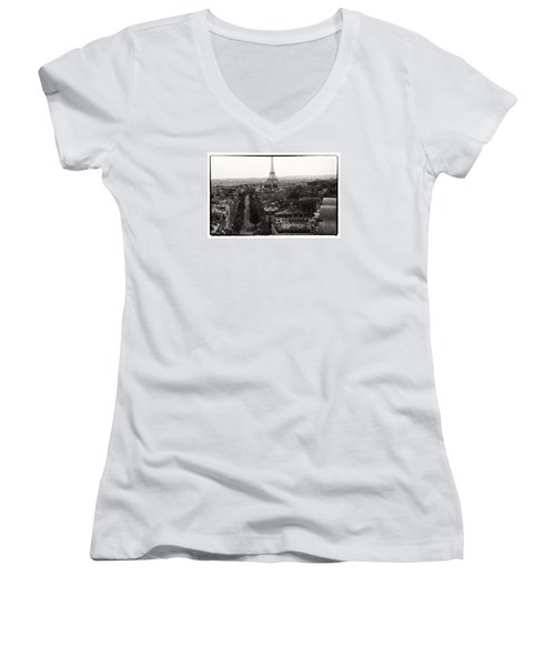 Paris 1966 Women's V-Neck T-Shirt