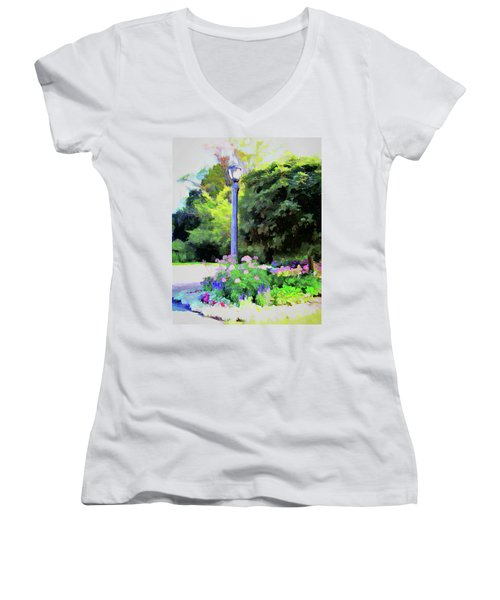 Park Light Women's V-Neck (Athletic Fit)