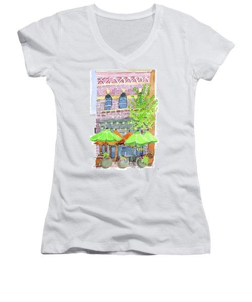 Parker's Bistro Women's V-Neck T-Shirt