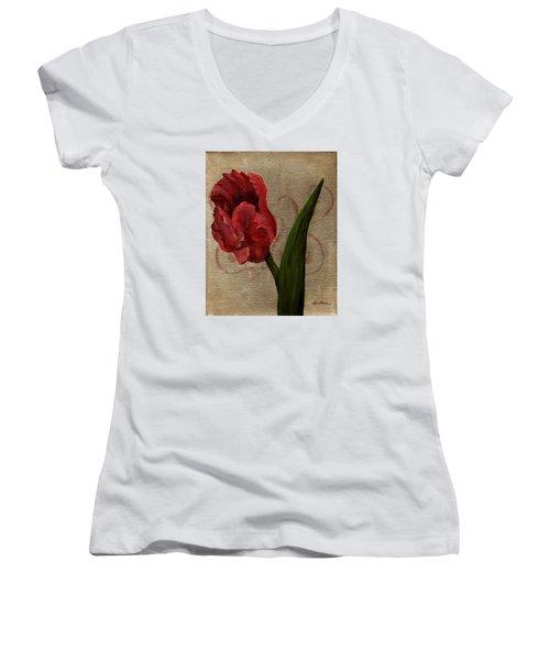 Parrot Tulip I Women's V-Neck
