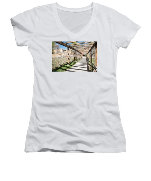 Passage To Sanctuary Women's V-Neck