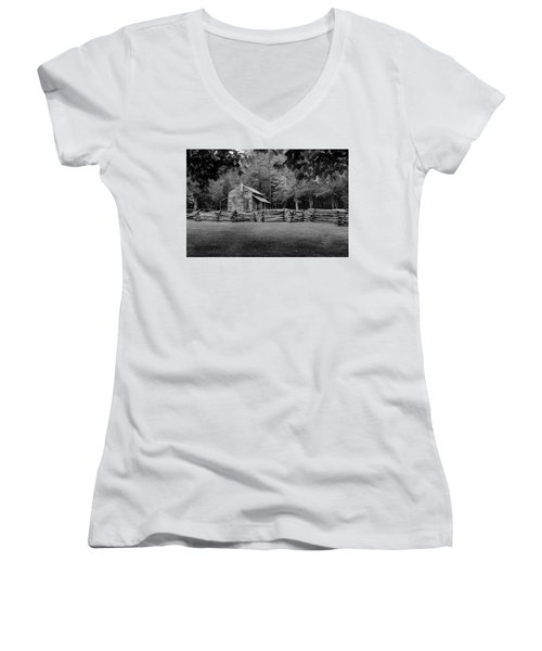 Passing Through The Cove Women's V-Neck (Athletic Fit)