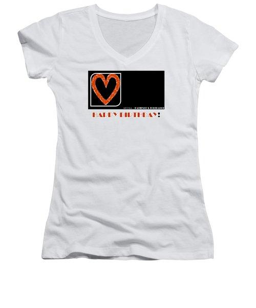 Patience Women's V-Neck T-Shirt (Junior Cut)