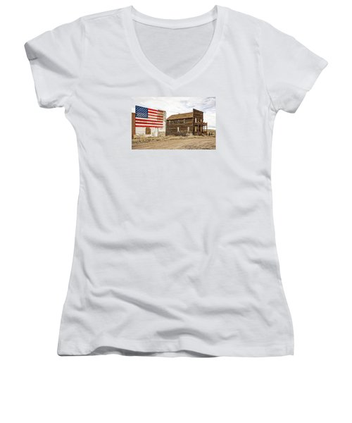 Patriotic Bordello Women's V-Neck