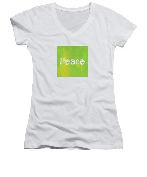 Peace  Women's V-Neck