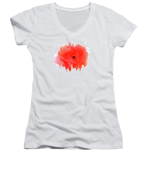 Peachy Keen Women's V-Neck T-Shirt