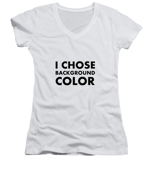 Personal Choice Women's V-Neck