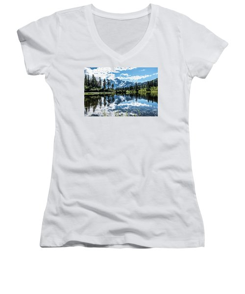 Picture Lake Women's V-Neck