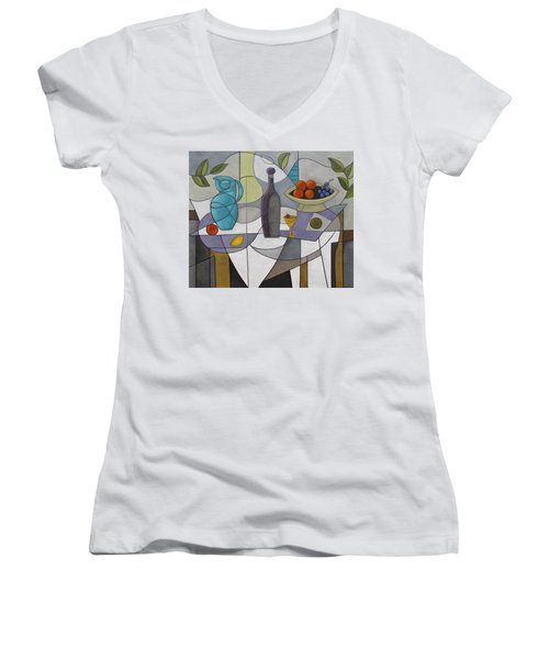 Pieces Of A Dream Women's V-Neck (Athletic Fit)