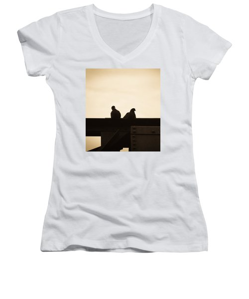 Pigeon And Steel Women's V-Neck