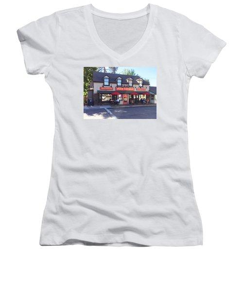 Pine Tavern Women's V-Neck T-Shirt