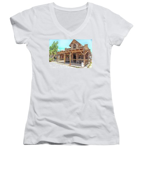 Pioneertown, Usa Women's V-Neck