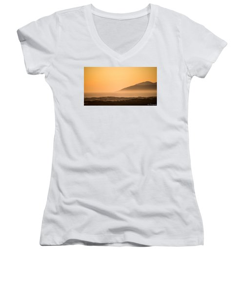 Pismo Sunrise Women's V-Neck (Athletic Fit)