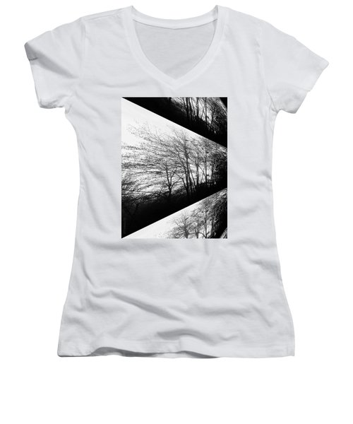 Playing With Shadows Women's V-Neck