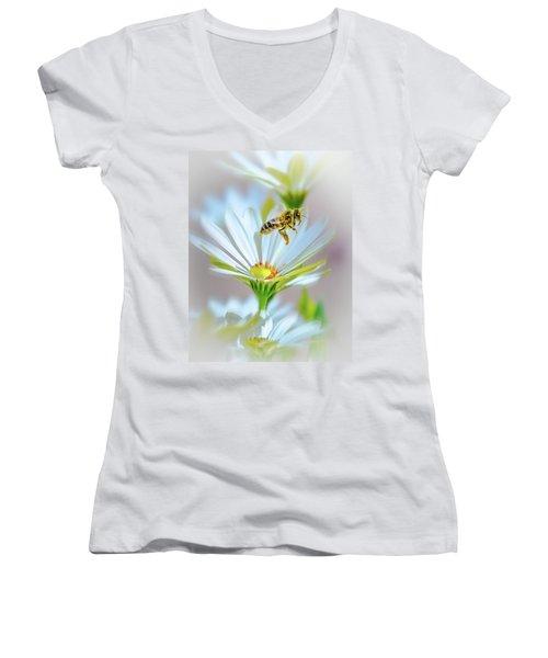 Pollinator Women's V-Neck T-Shirt