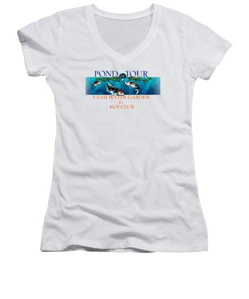 Pond Tour Women's V-Neck T-Shirt